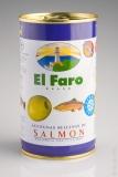 El Faro Olive grün mit Lachs