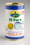 El Faro Olive grün mit Käse