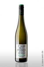 2020er Emil Bauer »If you are racist, a terrorist or just an asshole - dont drink my Sauvignon Blanc«