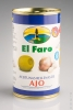 El Faro Olive mit Knoblauch